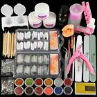 Acrylic Nail Kit Set Professional Acrylic with Everything for Beginners Acryl...