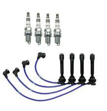 NGK Ignition Kit with Spark Plugs & Wire Set Fits Hyundai Elantra 99-06 L4 2.0L