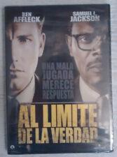 DVD: Al límite de la verdad (NUEVO, a estrenar con precinto de plástico)