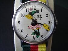 VINTAGE CLASSIC MINNIE MOUSE WATCH LARGE-CLEAN-TIMEX INGERSOLL DISNEY-NBAND-RUNS