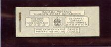 Canada 1951-52 KGVI Stamp Booklet superb MNH. SG SB48.