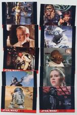 TOPPS (red cards 10/10) STAR WARS 1995- lotto 53 card serie completa - cc016