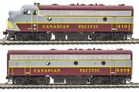 Walthers Mainline Canadian Pacific CP #4101,4459 EMD F7A-B Set DCC - HO Scale