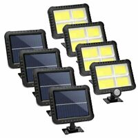 4Pack 128LED Solar Motion Sensor Lamp Garden Wall Path Light Outdoor Waterproof