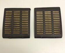 72 - 89 Mercedes Benz R107 Dash Board Speaker Cover Set, Brown