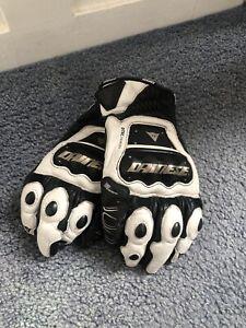 Dainese 4stroke Motorbike Leather Gloves,Size L