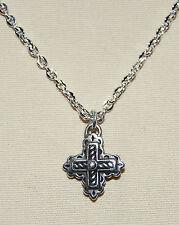 New BRIGHTON Eternity Cross BYZANTINE CROSS on custom necklace  FREE SHIPPING !