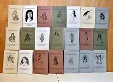 Richard Chambers Prescott Original 21 journal vols DISTURBING DELIGHTS. RARE QQ