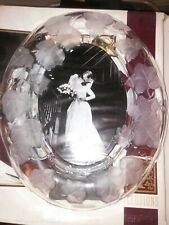 Fifth Avenue Crystal Oval Photo Picture Frame Ivy Bridal Wedding Gift Brand NEW