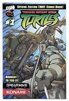 Teenage Mutant Ninja Turtles (2003 Dreamwave) #1 Konami Special Edition Variant