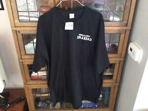 NWT Crazy Shirts Hawaii 'Worlds Best Grandad vintage before cool' T-shirt SZ XXL