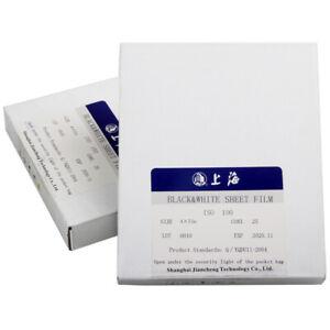 Shanghai GP3 4x5 5x7 8x10 ISO 100 B&W Film 25pcs Acid-Free Archival Storage Page