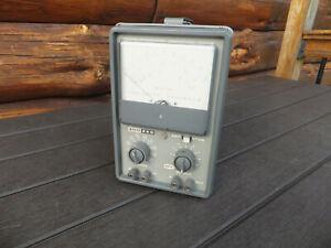 Vintage EICO Model 250 AMP VTVM Vacuum Tube Voltmeter Tester - Issues