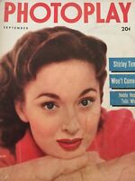 Vintage Collectible Movie Magazine Photoplay Ann Blythe Cover Sep 1952