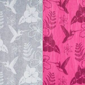 Printed Hummingbird Acid Free Tissue Paper Coloured Gift Wrapping Pattern Luxury