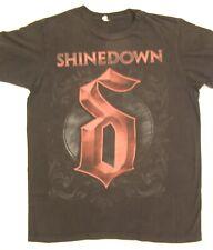 Shinedown Band Concert Tour T-Shirt Black size S