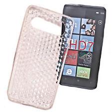 SILICONE TPU per cellulare Cover Case Guscio Guscio Custodia Protettiva in rosso per HTC hd7