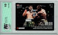 Deontay Wilder 2019 Topps Now #WVD-2 Only 100 Made His 1st Rookie Card PGI 10
