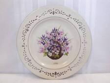 1996 Lenox Colonial Bouquet Massachusetts Collectors Plate Iob