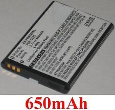 Batterie 650mAh type BTR7B PBR-C520 PBS-PC7300 Pour Pantech Breeze