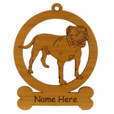 Olde English Bulldog Ornament 083627 Personalized With Your Dogs Name