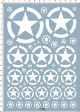 decals USA tank marks(white) for 1/35 1/48 or other scales(61202)