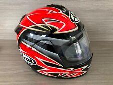 Arai Chaser Full Face Motorcycle Helmet, Small Red 55-56cm
