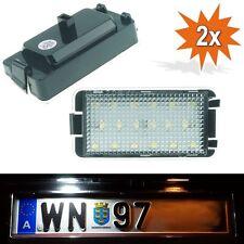 LED Kennzeichenbeleuchtung SEAT Altea Toledo 5P Arosa 6H Ibiza 6K 6L Leon 1M O01