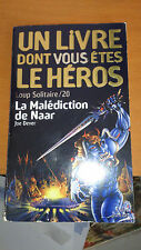 LDVELH - Loup solitaire, N°20 : La Malédiction de Naar - Joe Dever (livre-jeu)