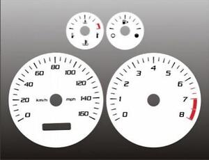 2004-2007 Cadillac CTS Dash Cluster White Face Gauges 04-07
