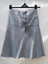 M&S Collection Size 22 Pure Linen Easy Iron Fit 'n'Flare Skirt Bnwt 22L