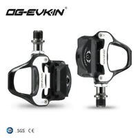 OG-EKIN 9/16 Road Bike Clipless Bicycle Self-locking Pedals with SPD-SL Cleats