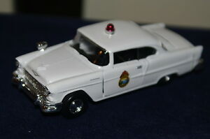 1/43 1955 CHEVROLET ALASKA TERRITORIAL POLICE CAR MINT