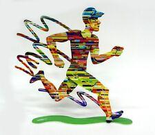 David Gerstein Jog Run Man Jogger Male Jogging Runner Marathon Metal Sculpture