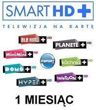 TNK Smart HD+ Multi+ Doladowanie Express Telewizja na karte Polska TV MiniMini