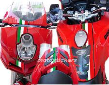 Ducati Multistrada - Fascia adesiva laterale tricolore