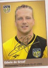 AH 2009/2010 Panini Like sticker 114 Edwin de Graaf NAC Breda