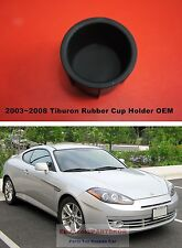 For 2003 ~ 2008 HYUNDAI Tiburon Coupe CUP Holder Console Rubber Genuine Part OEM
