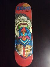 Zero Thomas Skateboard Deck Freelance Rare NOS