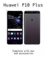 Huawei P10 Plus Graphite Black Boxed Unlocked LikeNew 128gb 6GB Ram Smartphone