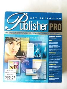 Art Explosion Publisher Pro Manual and 7 Discs