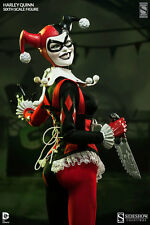 """Sideshow Exclusive DC Harley Quinn 12"""" Figure NIB Suicide Squad FREE SHIPPING !!"""
