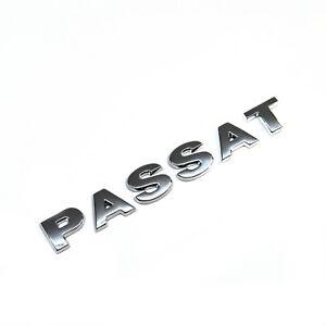 ORIGINAL VW Schriftzug Logo chrom Passat Heckklappe Passat 3C0853687A 739