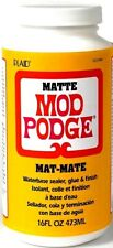 Mod Podge Waterbase pegamento, sellador y acabado mate, 473ml