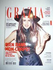 Magazine mode fashion GRAZIA french #314 octobre 2015 Selena Gomez