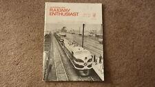 OLD AUSTRALIAN RAILWAY ENTHUSIAST MAGAZINE, MARCH 1972