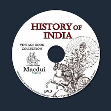 History of India – 9 Volumes Vintage e-Books Collection on 1 DATA DVD Sir Elliot