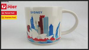 Starbucks Sydney 'You Are Here' (YAH) Mug 14oz/414ml