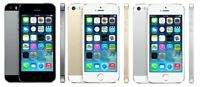 "Apple iPhone 5S- 16GB 32GB ""Factory Unlocked"" Smartphone IOS Gold Gray Silver"