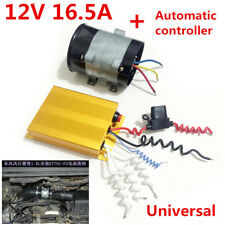 12V 16.5A Car Electric Turbine Booster Turbo Charger With Automatic Controller